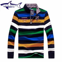 Original Brand Tace Shark Sweater Autumn High Quality Men S Sweater Half Turtle Neck Long Sleeve