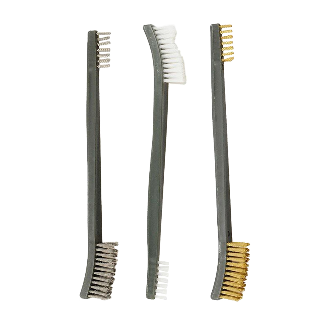 Hot Sale 3pcs/set 17cm Steel / Nylon / Brass Brush Suitable For Cleaning Paint / Rust / Dirt
