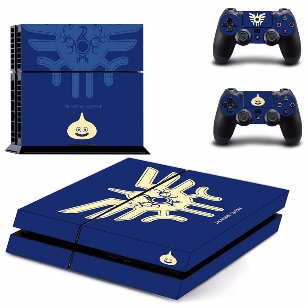 Game Dragon Quest XI PS4 Skin Sticker Decal For Sony PlayStation 4 Console and 2 Controllers PS4 Skins Sticker Vinyl image