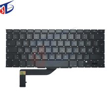 "new original Denmark DK keyboard for macbook pro 15.4"" retina A1398 Danish keyboard clavier without backlight 2013 2014 2015"