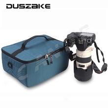 DSLR Объектив Камеры Делителей Вставки Сумка для Рюкзак Для Переноски Чехол для Объектива сумка для cannon 5d 6d 7d nikon d7200 d5300 d3300 10