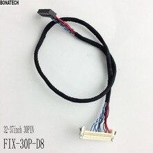 FIX-30P-D8 30pin single 8 32-37inch  LVDS cable 40cm