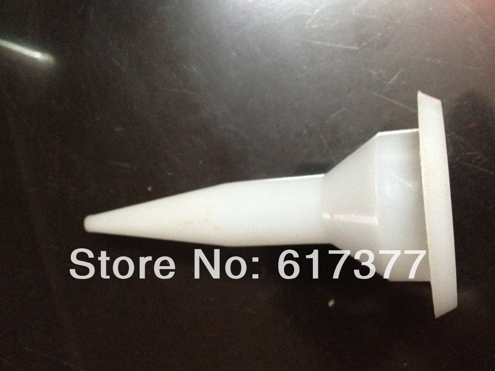 Retail Good Quality And Economy DIY Use Silicone Sealant Plastic Nozzle For Sausage Sealant Plastic Nozzle