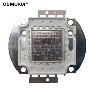 Светодиодные лампы высокой мощности, 5 шт., 10 Вт/20 Вт/30 Вт/50 Вт/100 Вт, чип cob для выращивания растений, розовые, красные, 32mil/blue35mil, чип для эпиляци...
