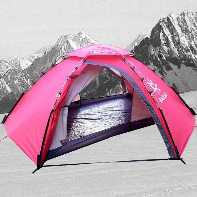 This is very high quality 2 Persons Mountain Tent four season tent for hiking & This is very high quality 2 Persons Mountain Tent four season ...