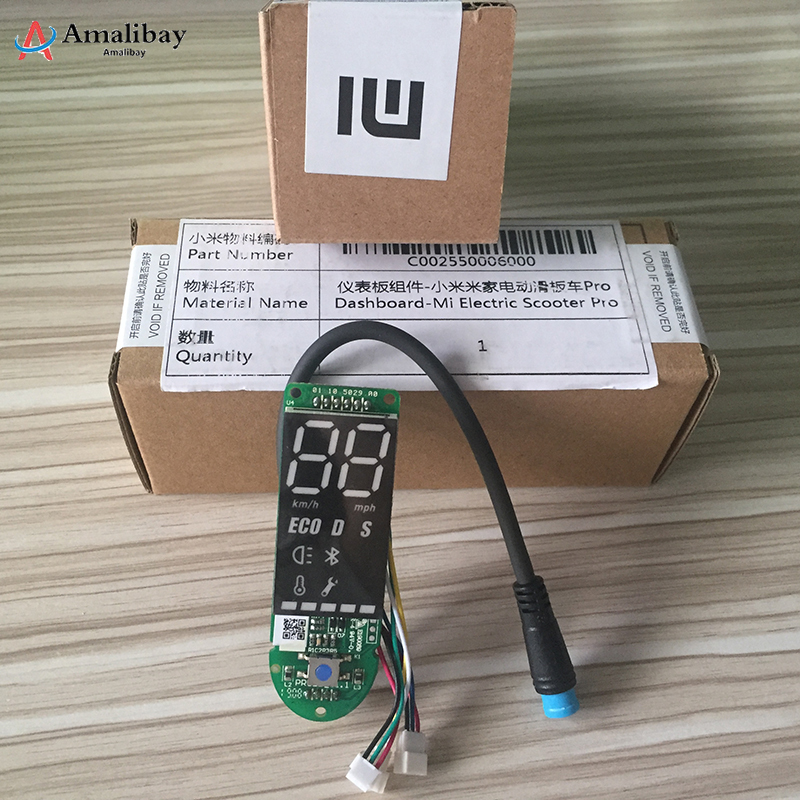 Original Xiaomi M365 Pro Scooter Dashboard with Screen Cover Xiaomi Pro Scooter Circuit Board Xiaomi M365 AccessoriesOriginal Xiaomi M365 Pro Scooter Dashboard with Screen Cover Xiaomi Pro Scooter Circuit Board Xiaomi M365 Accessories