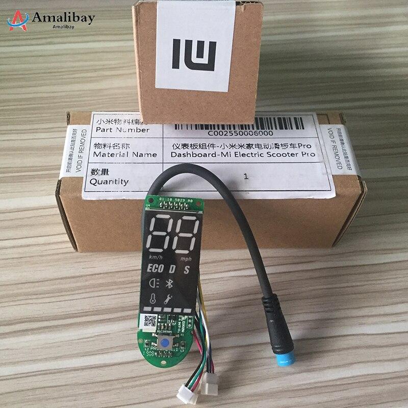 Tableau de bord Original de Scooter de Xiaomi M365 Pro avec le couvercle d'écran accessoires de carte de Scooter de Xiaomi Pro Xiaomi M365