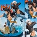 Anime One Piece Luffy VS quinto Aniversario de Trafalgar Law PVC Figura de Acción de Colección Modelo de Juguete 16 cm Al Por Menor Caja WU149