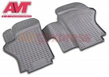 Коврики для hyundai H1 длинные 1997-2007 2 шт резиновые коврики нескользящей резиновой подкладке Тюнинг автомобилей аксессуары