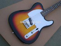 Бесплатная доставка Оптовая продажа новая tl электрогитара sunburst Цвет/гитара OEM/гитара в Китае