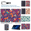 MTT Paisley Flowers For Samsung Galaxy Tab S2 9 7 Case Smart Stand Cover PU Leather