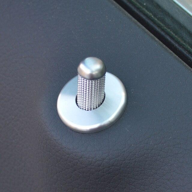 Dedicated to the FOR Mercedes Benz C-Class W205 door to door bolt decorative covers C180L C200L C260L interior refitting