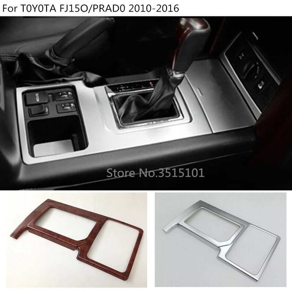 Bâche de voiture intérieur moyen Changement Caler Pagaie coupe cadre d'interrupteur garniture Pour Toyota FJ150/Prado 2010 2011 2012 2013 2014 2015 2016