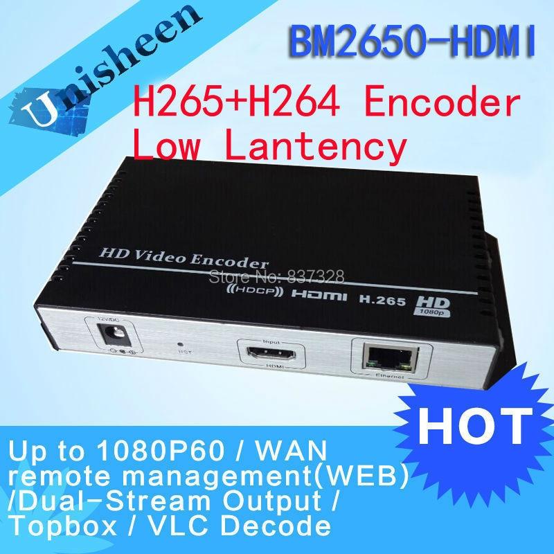HEVC H.265 MPEG-4 AVC/H.264 HDMI Encoder Replace HD Video Capture Card