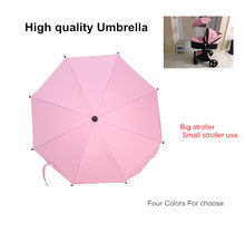 babyfond Aulon stroller umbrella general use umbrella stroller accessory windproof water proof rain cover(China)