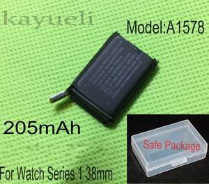 kayueli 205mAh 0.78Wh A1578 for Apple Watch 1 Battery