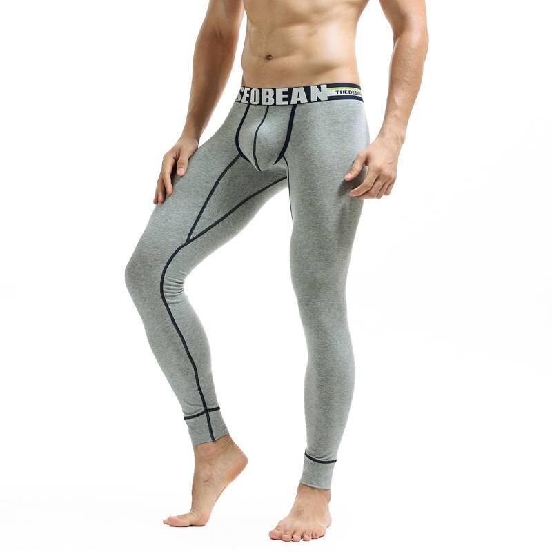 Seobean Marke Männer Lange Unterhosen Männlichen Homewear Hosen Mode Baumwolle Warm Langen Unterhosen Für Hot Sexy Mann Body Unterhose Rheuma Lindern Lange Unterhosen Herren-unterwäsche