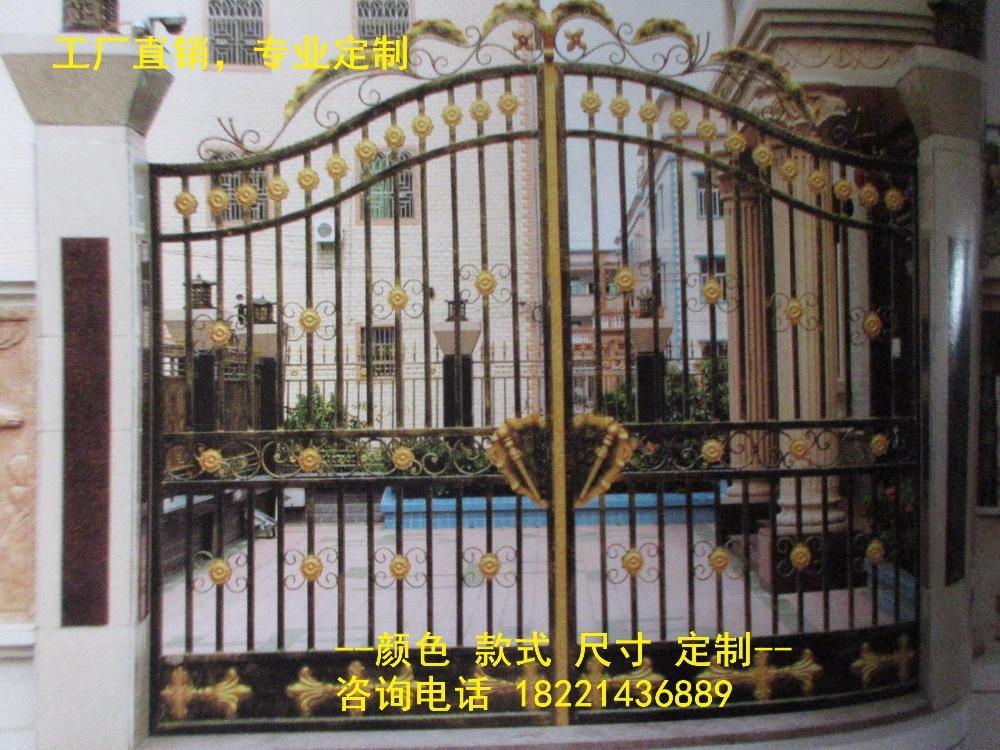 Hench 100% Hot Dip Galvanized Steel Iron Gates  Model Hc-ig23