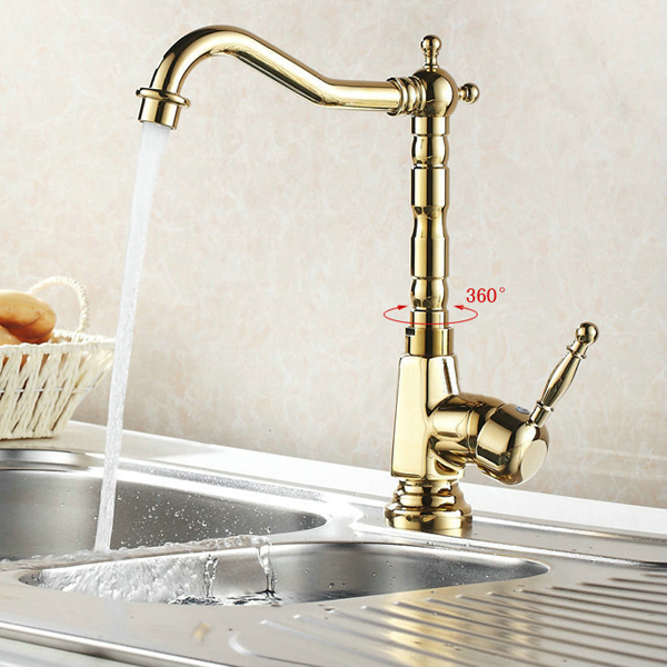 BECOLA Free shipping gold color bathroom sink faucet mixer ...