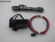 CHESHUNZAI RVC RGB Widok Z Tyłu Kamery Cofania Dla Golf Plus Jetta MK5 MK6 VI Tiguan Passat B7 RNS510 RCD510 18D/56D 827 566A