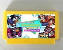 La Tarde de Dibujos Animados Colección 117 en 1 FC60Pins Cartucho de Juego, todos los Dibujos Animados juegos de FC 8punta Consola