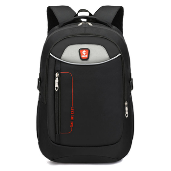 Men's Large Capacity Oxford Cloth Material New Large Capacity School Bag Business Office Travel Multi-Function Computer Backpack new unisex oxford cloth backpack casual travel student backpack tote shoulder bag large capacity computer bag xz 205