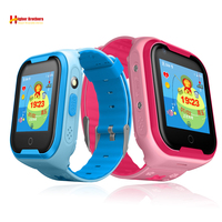 Smart 4G ребенок gps Wifi трекер дети Android IOS Водонепроницаемый Детские SOS Remote Monitor Камера WhatsApp видеовызова часы наручные часы