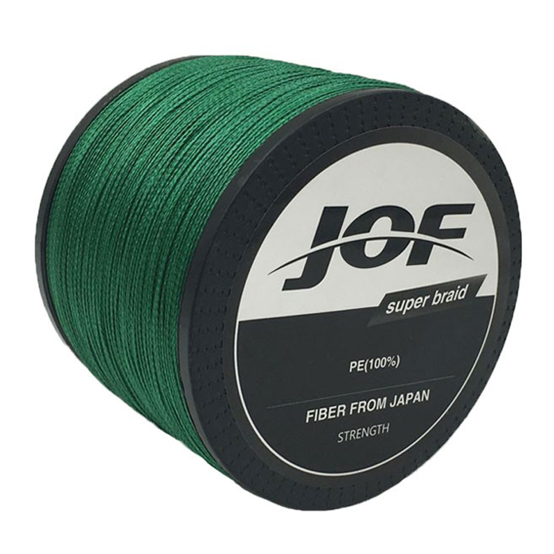 JOF Brand 1000m 4 Strands 4LB - 150LB Braided Fishing Line PE Strong Multifilament Fishing Line Carp Fishing Saltwater kastking 1000m 10lb 80lb pe multifilament 4 strands braid line ocean fishing super strong carp colorful braided fishing line