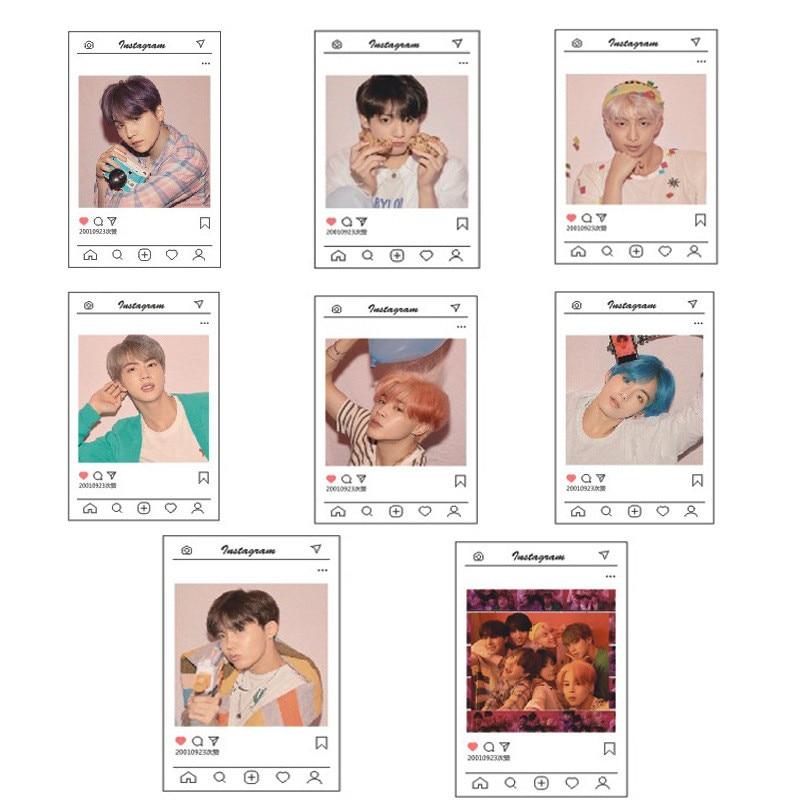 Novelty & Special Use Ins Bts Bangtan Boys New Ablum Map Of The Soul:persona Blackpink Transparent Lomo Card Jungkook Jimin Suga Card Hf221 Diversified Latest Designs