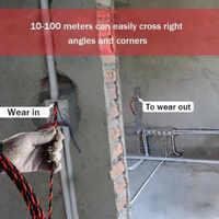 電気工事スレッディング装置バインダーキットケーブルガイダープラー配線インストールエイドツール JDH99