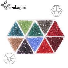 AAA 4mm 700 sztuk/partia Bicone Austria kryształowe koraliki luźne Spacer koraliki dla DIY tworzenia biżuterii dla projektantów prezenty