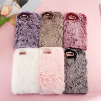 Phone Case For Samsung Galaxy J3 2017 Case Cover EU US Version Luxury Warm Soft Rabbit