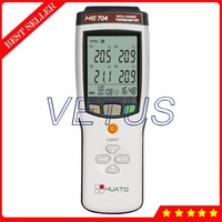 Handheld Digital 4 Channel Thermometer 200~1800C High Accuracy Temperature Meter Test K J E T R S N B Type Thermocouple Sensor