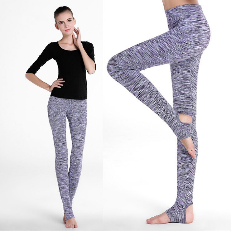 Workout Clothing Check Yoga Pants Best Gifts For Women And Girls SFX Hoseiry Check Jeggings Women Clothes