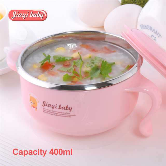 Food Warming Plate Injection Hot Water Insulation Cup Children's Food Dishes Dinnerware Bowl Baby Feeding Tableware