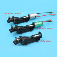 RC Model Boat High Speed 16mm RC Jet Engine 380/2440 Brushless Motor Jet Motor Water Jet Drive Pumps w Cooler for RC Boat Parts