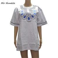 Mr Hunkle Novelty Women S Shirt 2017 Embroidery Short Sleeve Summer Autumn T Shirt Mandarin Collar