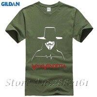 Hot T-shirt Homme Mode Lässig Fitness V Wie Vendetta T Shirts männer O Hals Kurzarm Baumwolle Hip Hop T-shirt Marke Kleidung