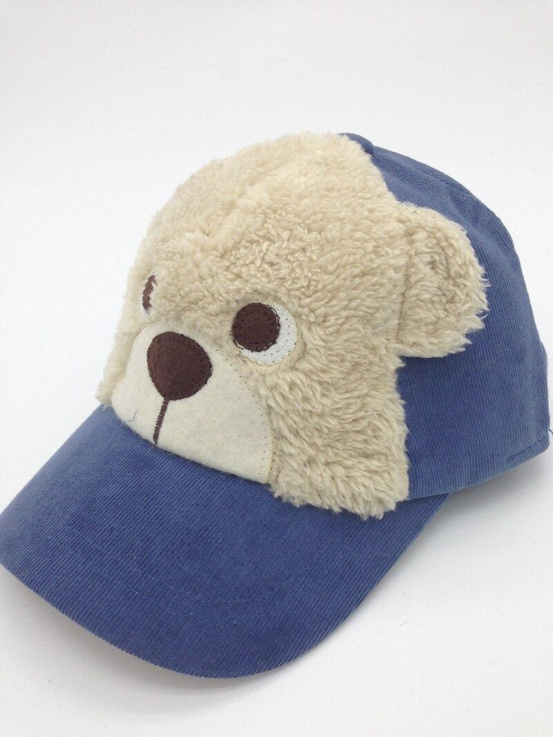 ღ ღVelvet speical sombreros del bebé moda niños CAPS perro de la ...