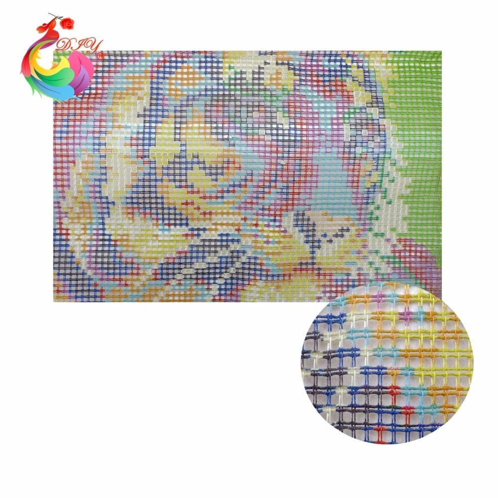 Hook Rug Kit Мультфильмдер Кескіндеме - Өнер, қолөнер және тігін - фото 3