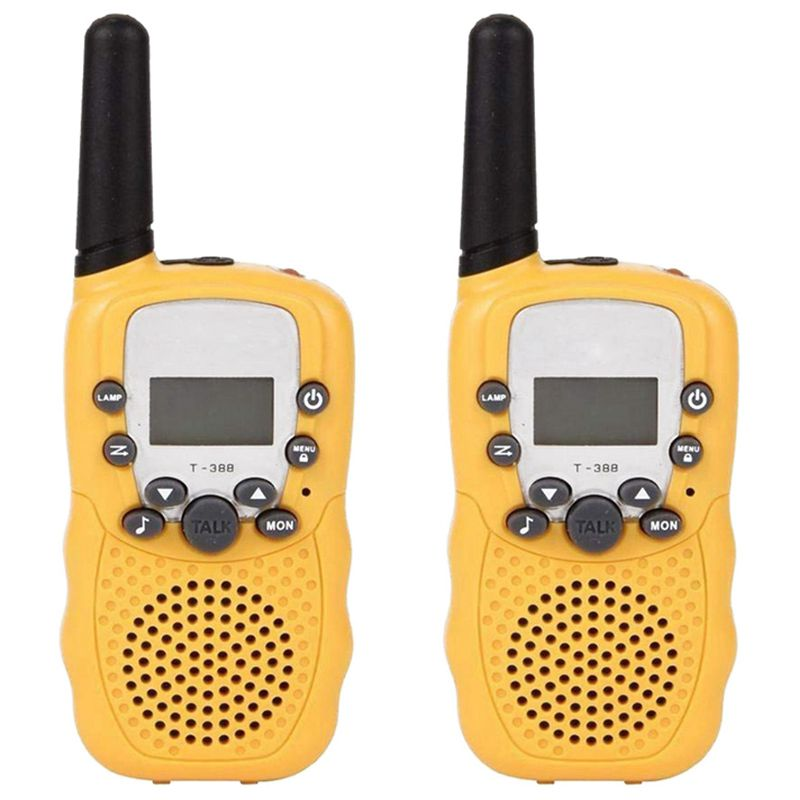Walkie Talkies 8 Channel 2 Way Radio Kids Toys Wireless 0.5W Long Distance Range Walkie Talkie For Field Survival Biking And H