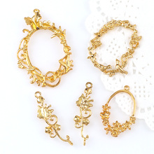 17e74be5619 Buy gold lace frame and get free shipping on AliExpress.com