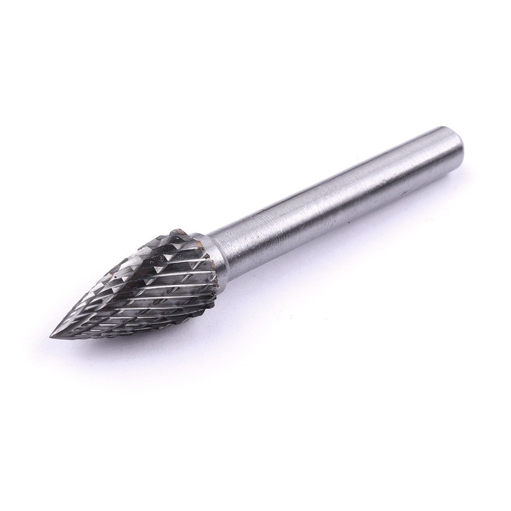 Top Selling 1PC 6mm Shank Rotary File 6*10mm High Hardness Tungsten Carbide Rotary Burr File for Processing Metal and Non-metal