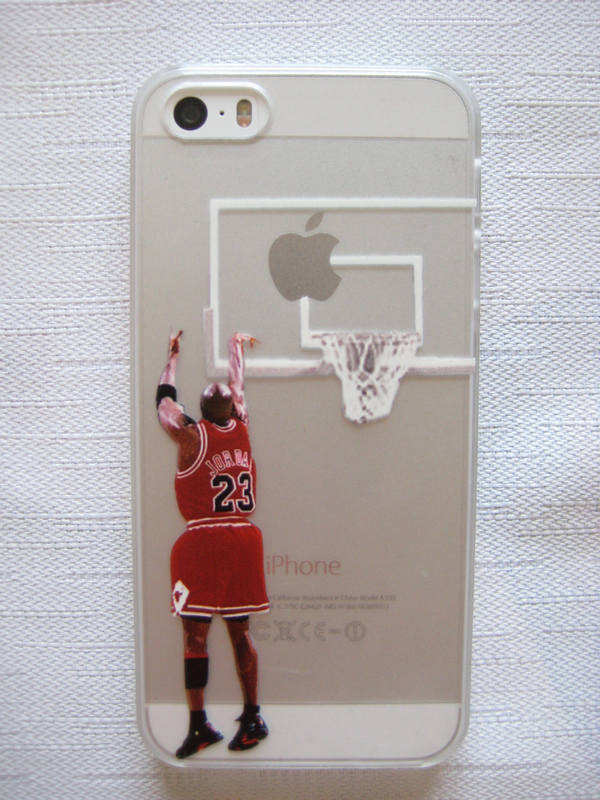 online retailer 6aea5 1dac7 US $4.5 |Basketball Player cases Jordan clear case for iphone 5/5s printed  case for iphone 5 on Aliexpress.com | Alibaba Group