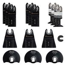 15 PCS Hout Oscillerende Zaagbladen Set Quick Release Multitool Messen voor Hout Metaal Plastic Gipsplaten Fit Craftsman Dewalt