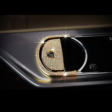 Zinc Alloy with Crystal Sticker for Electronic Parking Brake Button Cover Special Suitable for Jaguar XF XJI Car Accessories