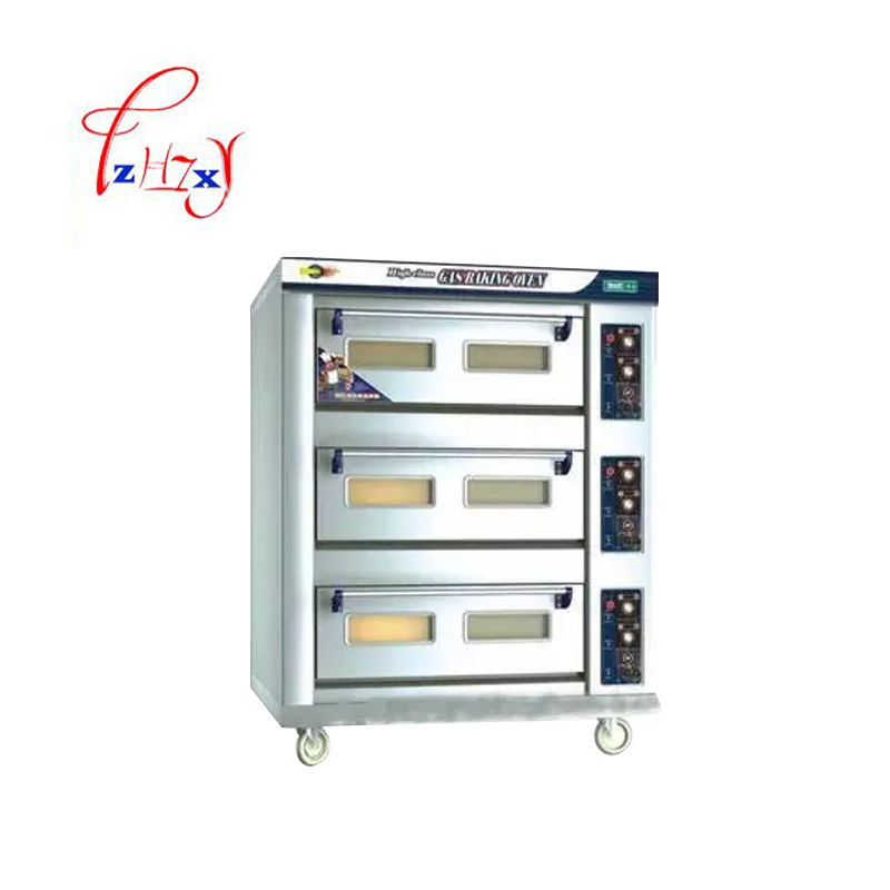 Electric Professional oven pizza bread oven 3 Layers 6 Trays Stainless Steel Food Toaster Baking Machine DFL-36 1pc цена и фото