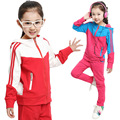 2015 новых детской одежды, Девочек спортивная одежда, Девочки одежда, Семья одежда, Детская одежда, Roupas Infantis