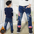 high-quality boys jeans Children casual pants  2-7 yrs boys jeans children clothing kids jeans of 2016 autumn New