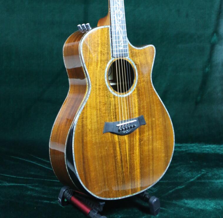 solid ebony guitar neck
